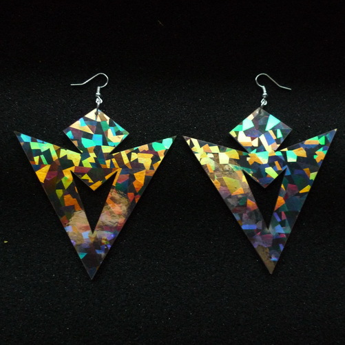 Large Laser Cut Acrylic Punk Earrings <br><br>Aliexpress