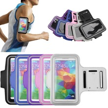 Adjustable Running SPORT GYM Arm Bag Case for Samsung GALAXY S5 Waterproof Jogging Arm Band Mobile Phone Cover(China (Mainland))