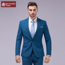 2016 New Arrival Men Suit Shiny Wedding Groom Suits For Men Brand Fashion Tuxedo Multi-color Slim Fit Business Suit C1914(China (Mainland))