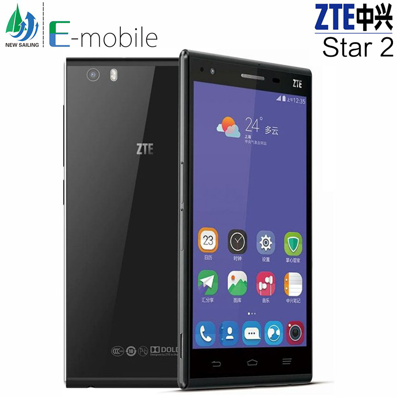 New 2015 Original ZTE G720T Snapdragon 615 Octa Core Mobile Phone 2GB+16GB FDD-LTE 4G Aandroid 4.4 1920*1080 IPS Screen 13.0MP(China (Mainland))