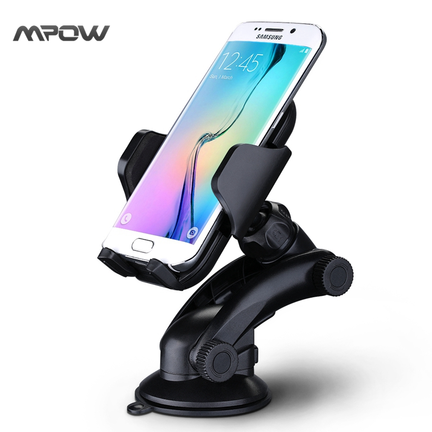 Steering-Wheel MCM12 Mpow Car Mount Grip Pro 2 Dashboard Adjustable Car Phone Holder Universal Cradle Windshield Holder Cradle(China (Mainland))