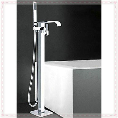 Single Handle Bathroom Bathtub Faucet Single Bars Chrome Shower Floor Faucet JA65410 vasos for jillkets electric water heater(China (Mainland))
