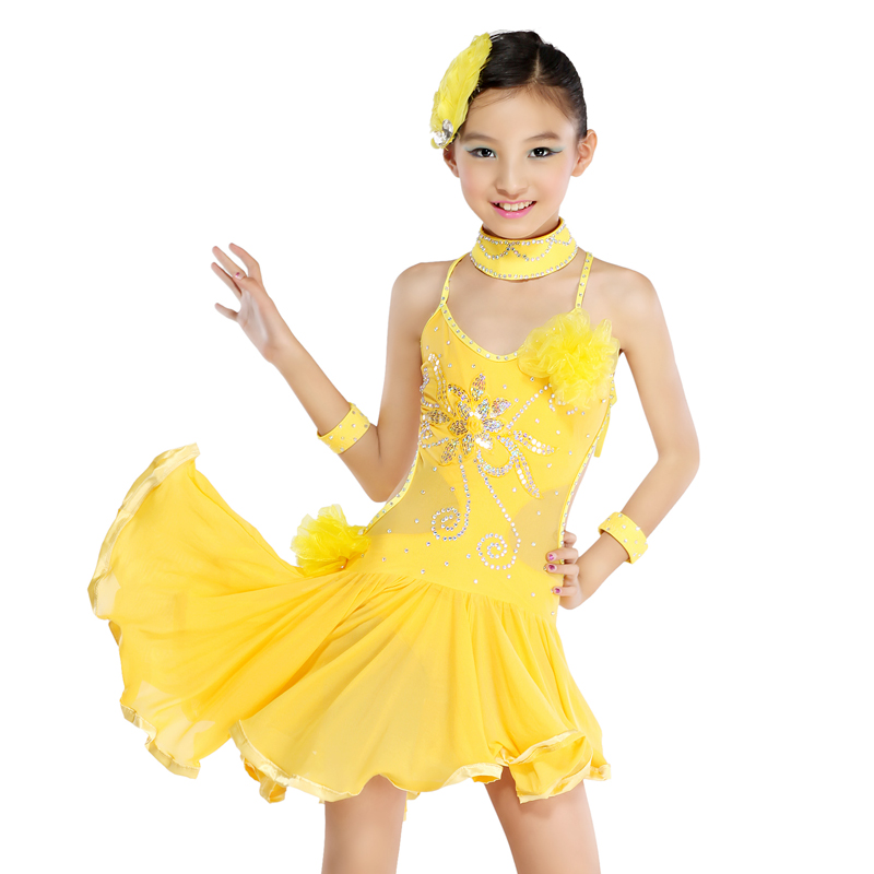 latin dance dresses for girls-#43