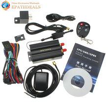Car GPS Tracker GSM/GPRS Tracking Device Remote Control Auto Vehicle TK103B KA (China (Mainland))