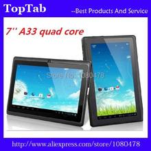 Q88 7 inch A33 quad core bluetooth android 4.4.2 dual camera 2800mah 512M 4GB tablet pc(China (Mainland))