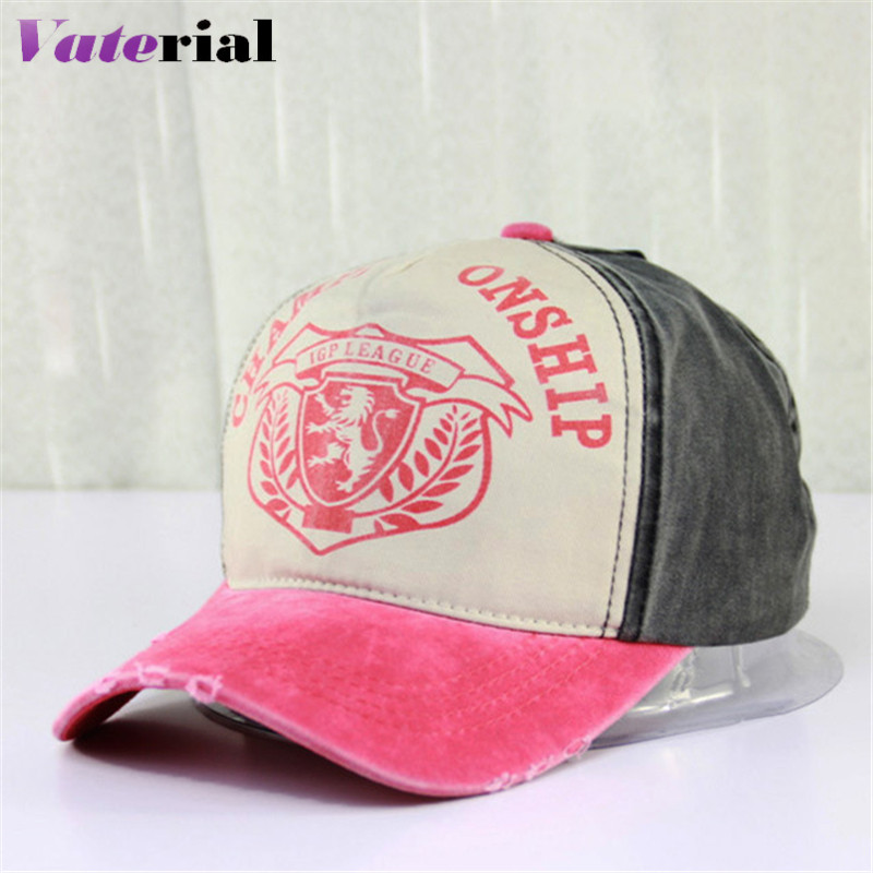 European fashion retro lion standard old cotton trendsetter for male and female cotton baseball cap VB0574(China (Mainland))