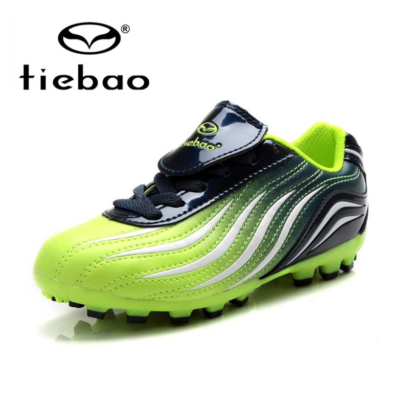 2016 new tiebao children football boots soccer shoes