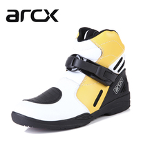 ARCX men women motorcycle boots leather winter autumn hiking boots racing boots for motorcycles Cycling Shoes Protective Gears(China (Mainland))