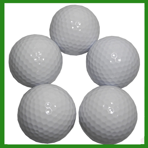 Brand New 4pcs/lot Surly&Rubber Bee Cave Golf Practice Balls Double Two Piece Balls Outdoor Training Aid Golf Ball(China (Mainland))