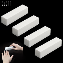 4 Pcs/Lot Nail Art Buffer File Block Pedicure Manicure Buffing Sanding Polish White Makeup Beauty Tools(China (Mainland))
