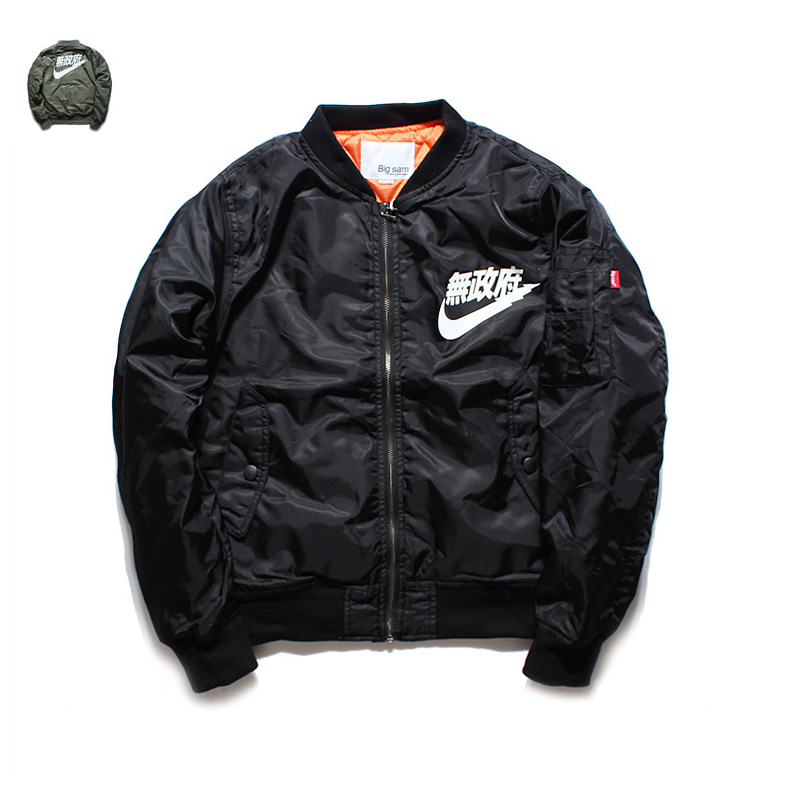 yeezus Sons of Anarchy,tour MA1 Black Army Green pilot flight jackets yeezy 2016 Japanese Bomber men baseball Coats military(China (Mainland))