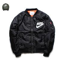 yeezus Sons of Anarchy,tour MA1 Black Army Green pilot flight jackets yeezy 2016 Japanese Bomber men baseball Coats military(China (Mainland))