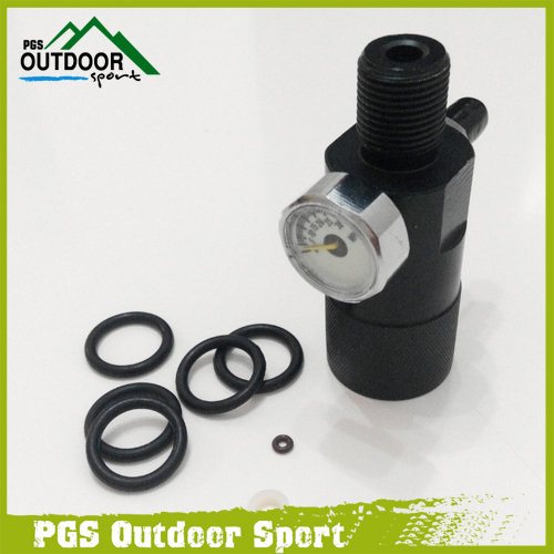 Pcp Airforce Condor Paintball Airsoft  joint double hole 18 * 1.5 threads 30MAP for test pressure free shipping<br><br>Aliexpress