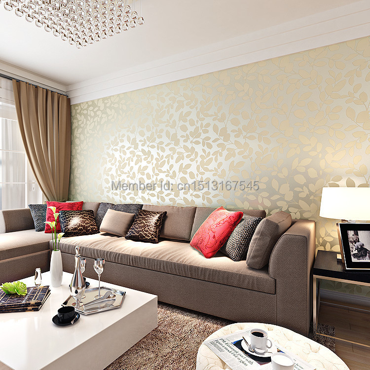 Simple and stylish woven wallpaper 3d wallpaper warm for Stylish wallpaper for home