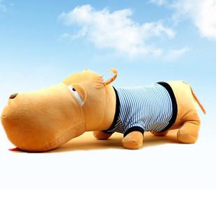 wholesaler hot Christmas gift lovely BIG HEAD DOG soft stuffed plush animal toys 50cm sizes(China (Mainland))