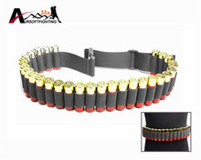Buy Tactical 29 Shotgun Shell Bandolier Belt 130*5CM Outdoor Airsoft Hunting 12 Gauge Ammo Holder Military Shotgun Cartridge Belt for $5.31 in AliExpress store