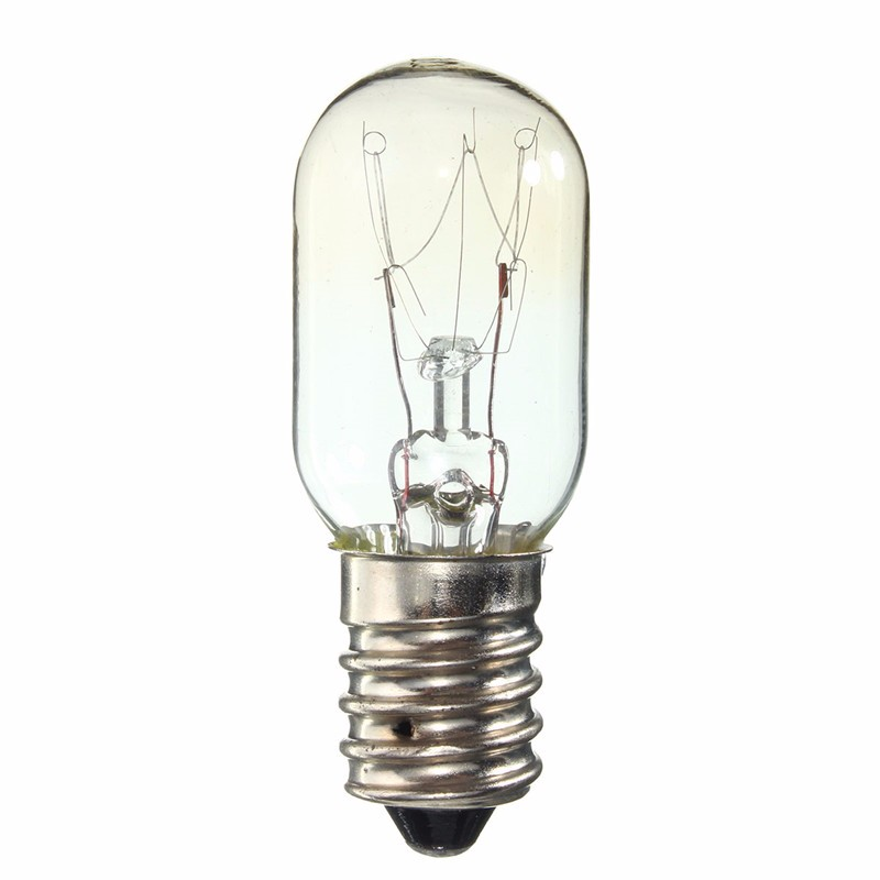 E14 SES High Temperature 300 Celsius 15W/25W Warm White Oven Cooker Refrigerator Heat Resistant Light Bulb Lamp AC220-230V(China (Mainland))