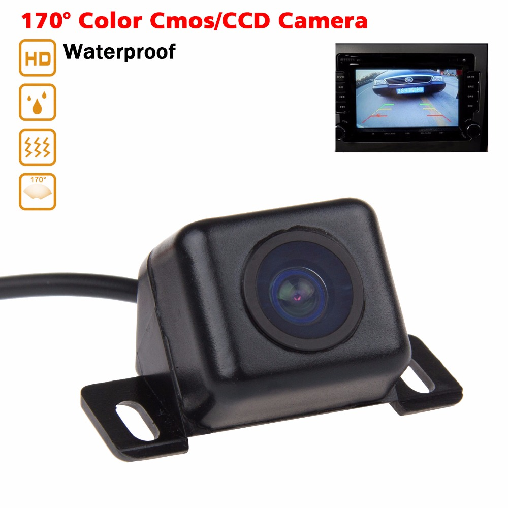Car Rear View camera Waterproof 170 Degree Wide Viewing Angle Reverse Backup CMOS/CCD Car Rearview Camera Monitor For Parking(China (Mainland))