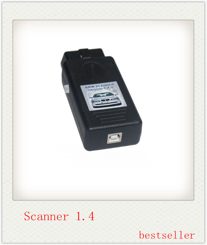 2014 newest For BMW 1.4.0 scanner for bmw code reader with high quality and lowest price with free shipping(China (Mainland))