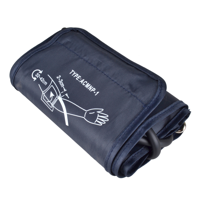 New coming 32-42cm extra Large Adult Reusable blood pressure cuff Single tube /imitation leather cuff(China (Mainland))