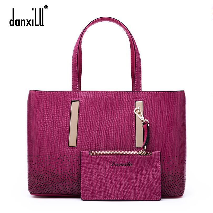 DANXILU  Famous brands high quality dermis women bag 2015 new winter shoulder Messenger Bag New handbag Picture bag<br><br>Aliexpress