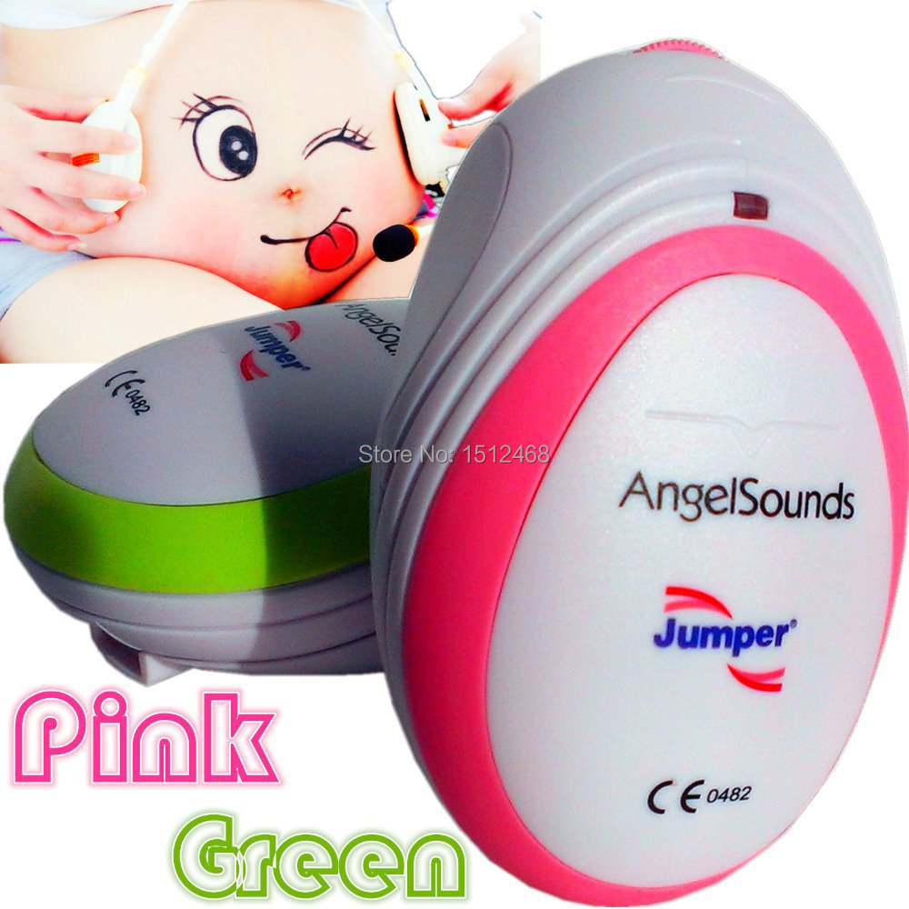 CE FDA Mini AngelSounds Fetal Doppler Pocket Ultrasound Prenatal Fetal Detector Portable Baby Heart Rate Monitor Free shipping(China (Mainland))
