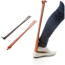 High quality, solid wood home longer pull mention shoes long shoehorn shoes downpipe artifact(China (Mainland))