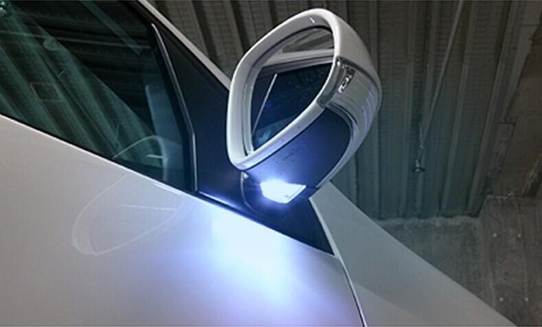 T10 2835 24smd LED Side Rearview Mirror Light Shining Lights Turn Signal Lamp VW Passat CC Scirocco Tiguan 2pcs/set - Lenny Auto Parts Store store