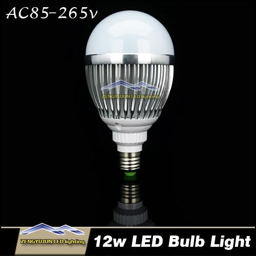 E27 Led Bulb Light 12w AC 85-265V Replace Halogen lamp<br><br>Aliexpress