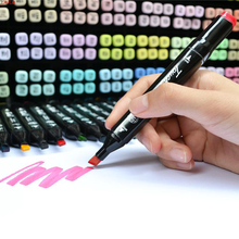 [ NEW ] Art Marker Pen 30 / 40 Color Alcohol Oily Marker Pen Art Marker Pen Animation Interior Design Art Marker Pen 30/ 40 Set(China (Mainland))