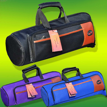 Hot sale luxury professional protable trumpet bags 600D soft pocket case durable cover good quality backpack shoulder withstrap(China (Mainland))