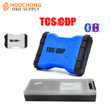 Car Truck diagnostic-tool bluetooth VCI TCS pro scanner 2014 R2 R3 Multi-language Plastic box free activation - Diagnostic Tools Hoochong Store store