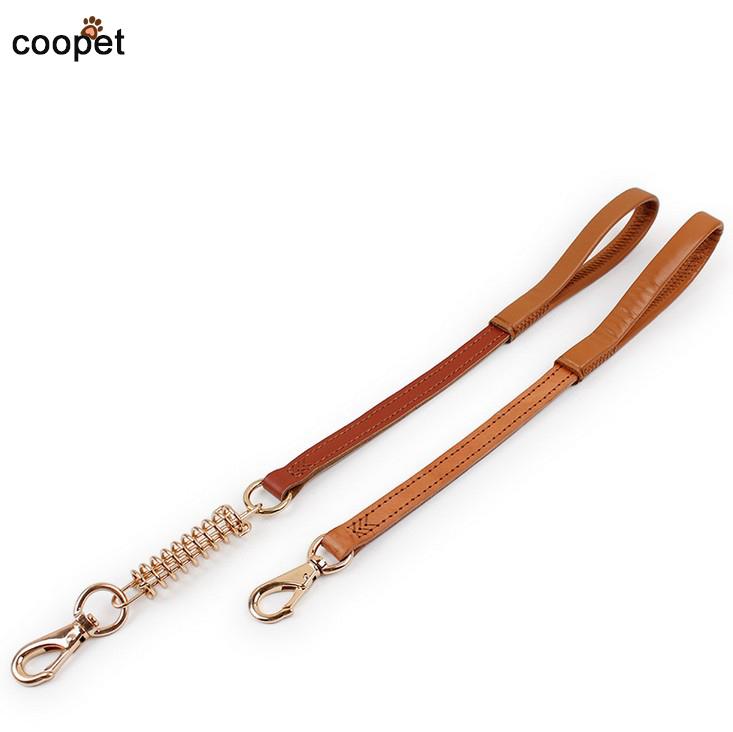 COOPET Corium Brand Designer Pet Leash Lead Puppy Cat Pet Leash Hook Leather Dog Leash Small Dogs(China (Mainland))