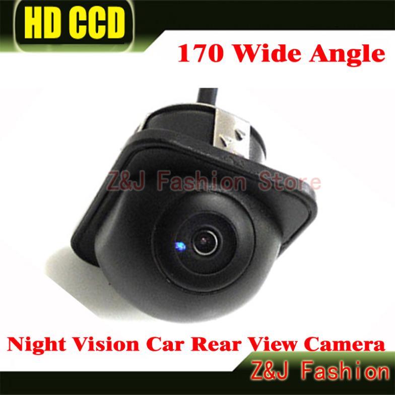 170 Wide Angle Night Vision Car Rear View Camera Front Camera Viewside Camera Reverse Backup Color Camera 6M Free Shipping ZJ(China (Mainland))
