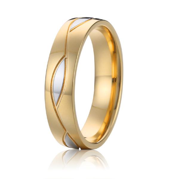 latest discount cheap wholesale vintage style mens fashion two color titanium wedding bands couples engagement rings for men<br><br>Aliexpress