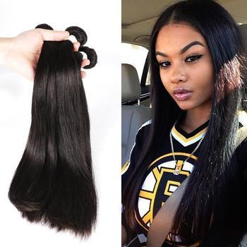 modern show hair products Malaysian virgin hair straight,on sale cheap malasian virgin hair bundle deal,human hair weave