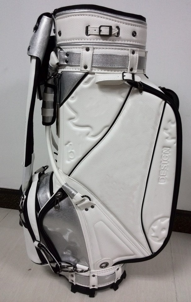100% close to learther PU material B5VW golf caddy bag(China (Mainland))