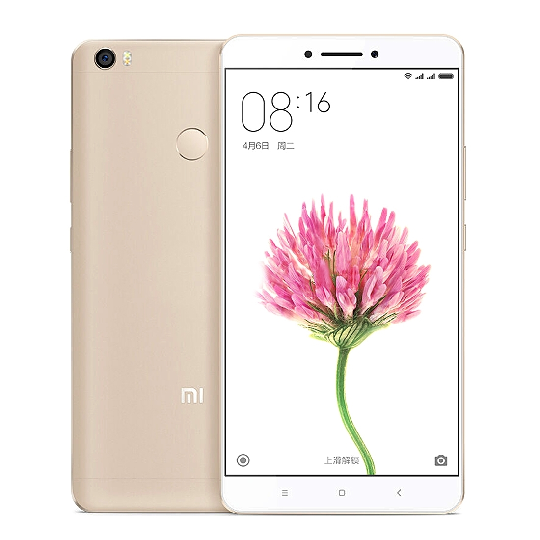 Original Xiaomi Max 6.44 inch Snapdragon 650 Hexa Core MIUI 8 OS RAM 3GB ROM 32GB 4G Phone Call Tablet PC, 4850mAh 16MP