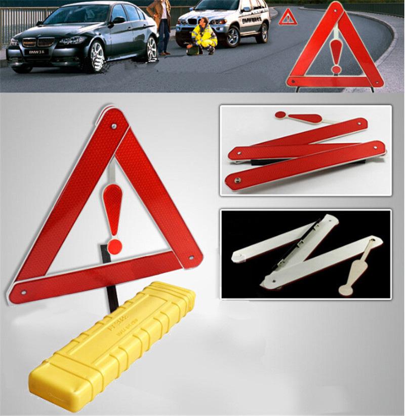 Пластик автомобильный поставки экстренная инструмент раскладной отражающий кронштейн база предупреждение треугольник красный оповещения 1per комплект