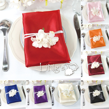50 pieces Satin Napkin 30*30CM