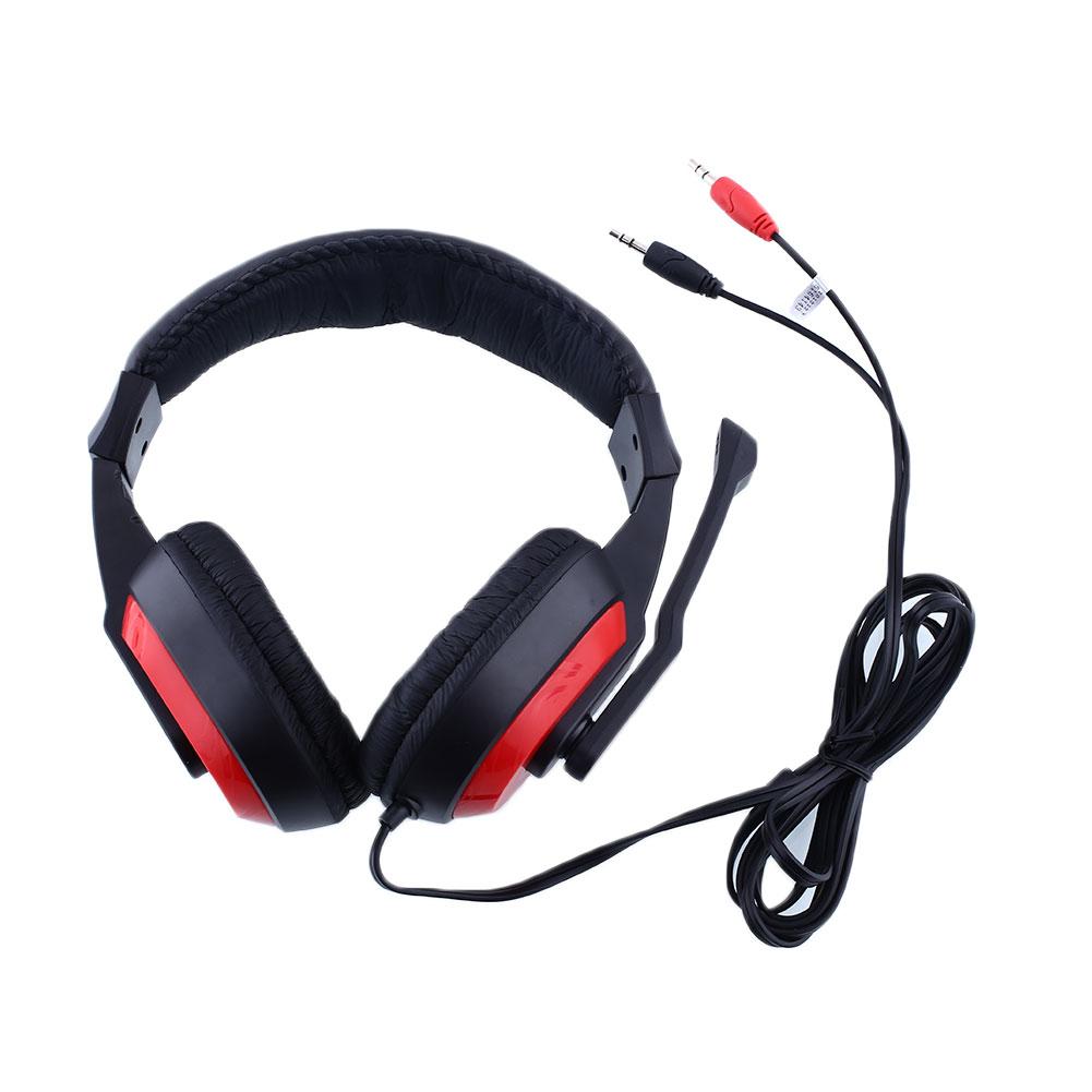 Gaming Stereo Headphones Headset Earphone w/ Mic PC Computer Laptop KANGLING 770 Black&amp;RED Gaming Headphones<br><br>Aliexpress