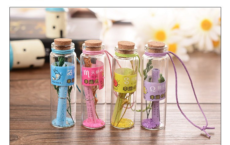 Small Drift Bottle DIY Containers Message Vials Ornaments Glass Jars Decoration