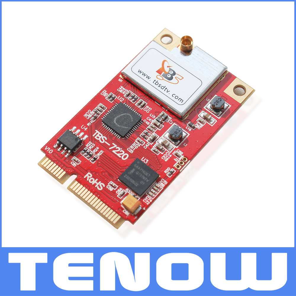 TB7220 DVB-T2/T/C TV Tuner mini PCIe Card,PCIe DVB-T2/T /CTV Tuner for PC(China (Mainland))
