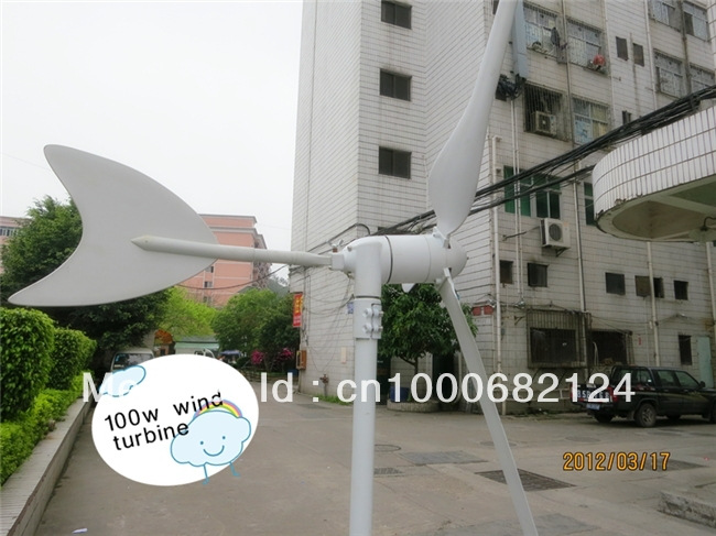Green Energy Wind Generator 100 w(China (Mainland))
