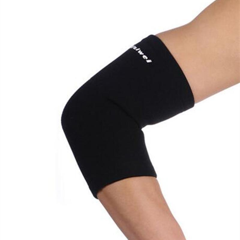 010722 Elastic Elbow Support Neoprene Tennis Golf Arthritis Epicondylitis Pain Brace Gym Sport Elbow Protectors(China (Mainland))