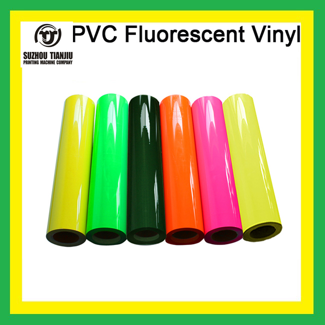 "TJ Low Price PVC fluorescent t shirts heat transfer film 1 Roll 0.5*25meter(20""x984"") six colors hot sales(China (Mainland))"
