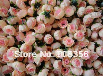 HOT Artificial Silk Simulation Single Rose Camellia Peony Flower Head Wedding Christmas Party 3cm 11 Colors Diy Jewlery