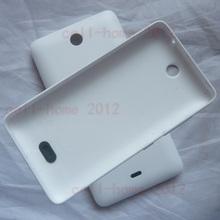 Sacos & Casos de Telefone Substituição de Quadros para Nokia Branco Habitação Voltar Tampa DA Bateria Case Capa Porta Lumia 430 Housingcover_lumia430