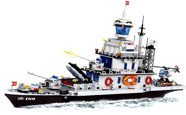 Ausini building block set compatible lego military series 095 3D Construction Brick Educational Hobbies Toys Kids - JENS store