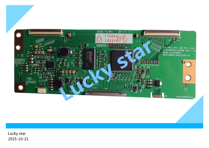 98% new good working High-quality original for TV board LC420WX7-SLE1 screen 6870C-0169B T-con logic board<br><br>Aliexpress